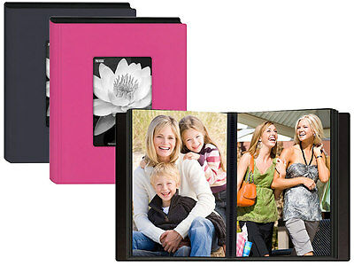 Pioneer KZ-46 24 Pocket 4x6 Photo Album Assorted Colors (Same Shipping Any Qty)