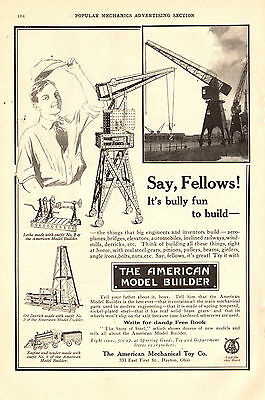 1915 Ad-American Model Builder-Mechanical Toy Co./December-1915