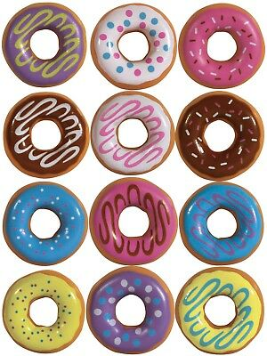 """I Love Donuts Key Chains & Necklaces in 1"""" Capsules - 250 Ct. W/ FREE DISPLAY"""