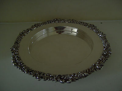 Antique Silver Plate Tray Dish