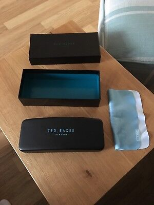 Ted Baker Glasses Case Spare Replacement Black Box