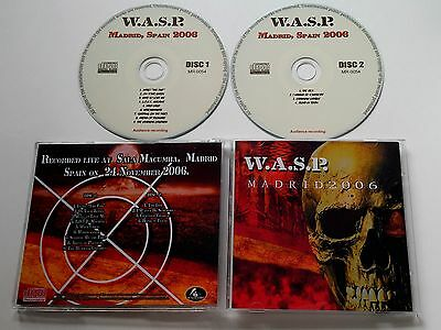 W.A.S.P. WASP  Live in Madrid 2006 - 2CDs, motley crue, slayer, kiss,