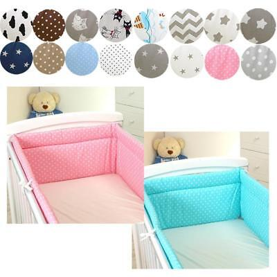 Bumper with Head Protection for 120x60 Bed 350x30cm Baby Bed Bed EDGE PROTECTION