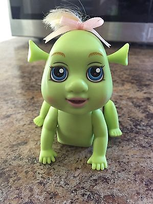 Felicia Baby Girl Ogre Shrek Electronic Plastic Toy Doll works- flaw