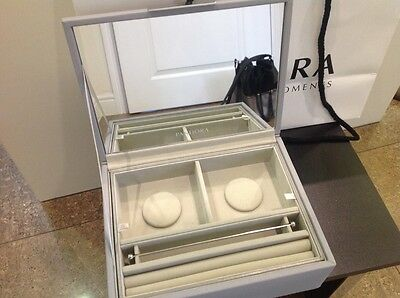 Pandora Medium Dove Grey Jewellery Box new