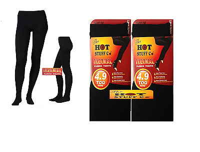 Ladies/Women Warm Winter Super Thermal Insulated hick Fleece Tights 4.9Tog S-XL