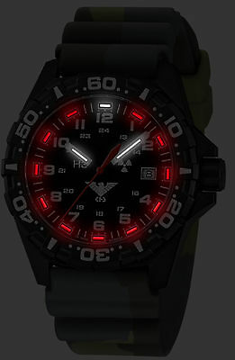 KHS Tactical Watches KHS Reaper with Diver Band Cam. Olive, Swiss KHS.RE.DC3