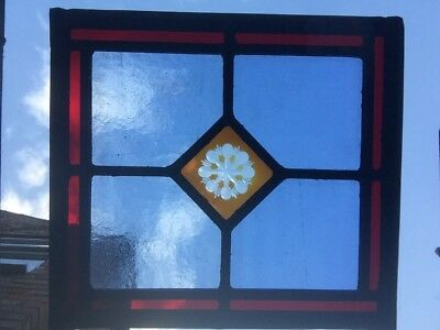 A Stained Glass Panel.
