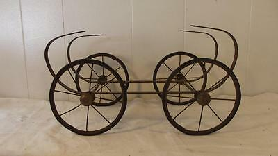 Antique Doll Stroller Frame Doll Buggy Pram Frame Rare Great Condition