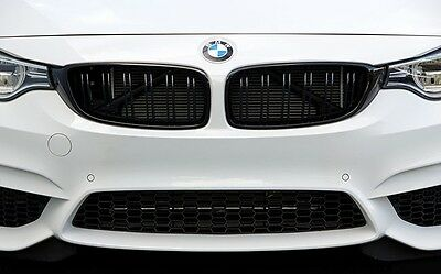 BMW F32 F33 F36 4 Series Gloss Black Kidney Grill Grille Twin Bar All Models