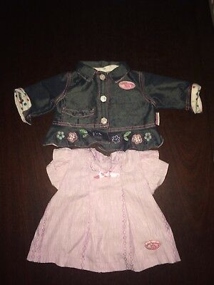 Baby Annabell Dress And Denim Jacket