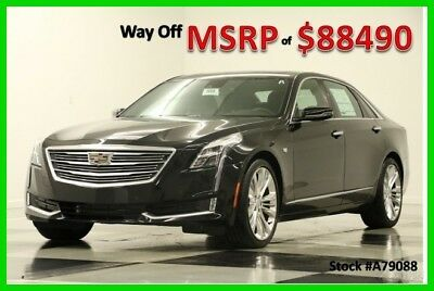 2017 Cadillac Other Platinum AWD AWD  Heated Cooled Leather Sunroof  D 2017 Platinum AWD AWD  Heated Cooled Leather Sunroof  D New Turbo 3L V6 24V AWD