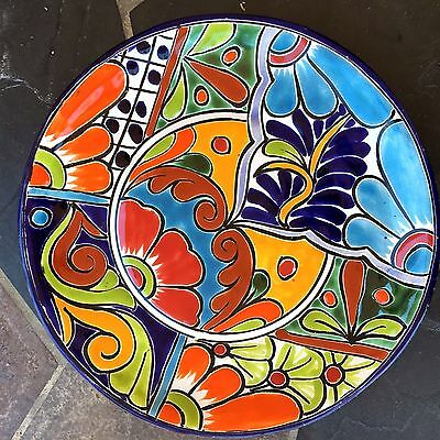 """Talavera Pottery Dinner Plates  10"""" Mexican Imports Dish Reduced!!"""