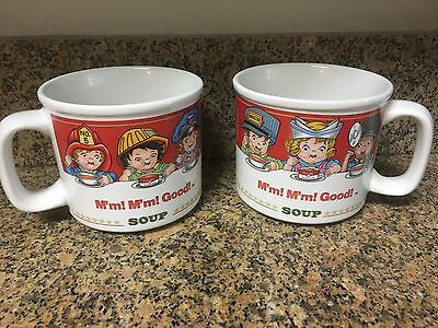1993 Campbell Soup Set Of Two Mugs