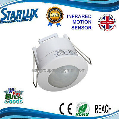 STARLUX Flush Infrared Motion Sensor 6mt Range OCPF/ST41