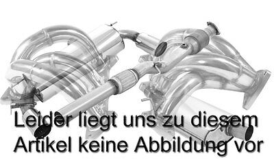 Nil 2.99in Downpipe with Sports Catalytic Converter Versetzt AUDI TTS 8S Quattro