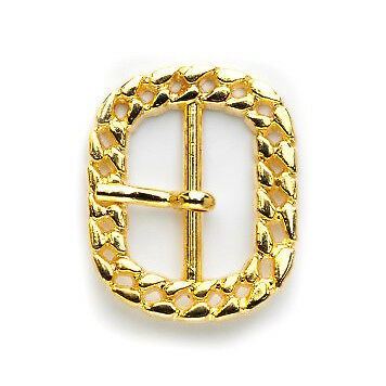 Cord Buckle: 25mm: Brass