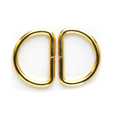 D-Ring: 25mm: Gold