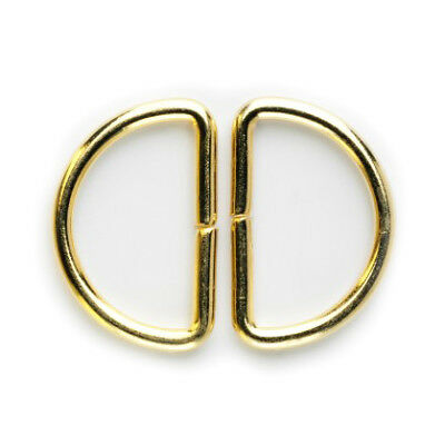 D-Ring: 30mm: Gold