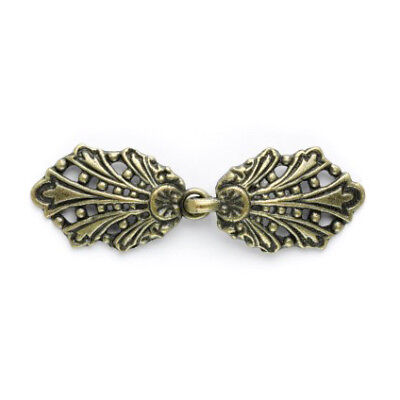 Peacock Clasp: 58mm: Gold