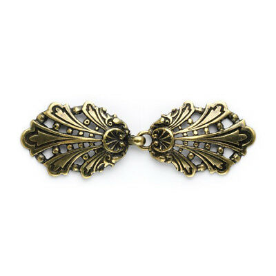 Peacock Clasp: 80mm: Gold