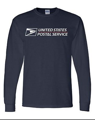 USPS Navy Blue Long Sleeve Postal Shirt. BUY 2 GET 1 FREE! (must add 3 to cart)