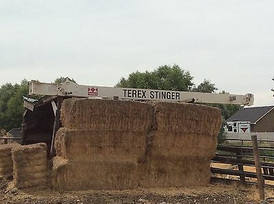Terex boom truck telescoping off settable jib  26'-40'  great condition