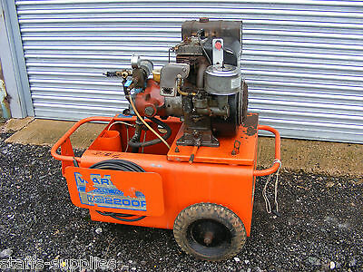 Warick 2200F Petrol Pressure Washer 16Hp Briggs & Stratton Engine