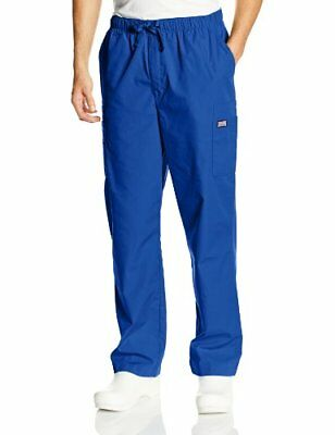 Cherokee Workwear Scrubs Men's Cargo Pant Galaxy Blue Small