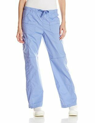 WonderWink Women's Wonderflex Faith Scrub Pant Ceil Blue Small