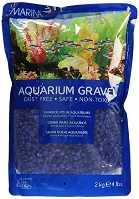 Marina 12484 Blue Decorative Aquarium Gravel 2kg 4.4-Pound