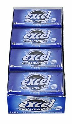 Excel Mints Winterfresh 34gm Tin 8 Count