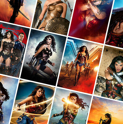 A0 A1 A2 A3 A4 Sizes Available Wonder Woman Movie Large Poster Art Print
