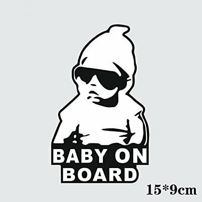Yosoo Baby on Board Sign of Baby in Car Auto Safety Warning Reflective Car St...