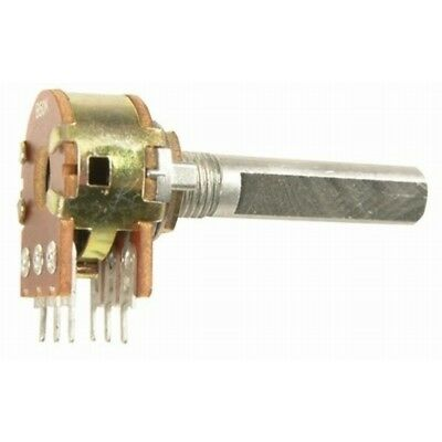 NEW 100k Ohm Linear (B) Double Gang 16mm Potentiometer RP7712