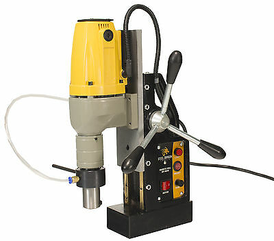 "Steel Dragon Tools® MD40 Magnetic Drill Press 1-1/2"" Boring & 2700 LBS Magnet"