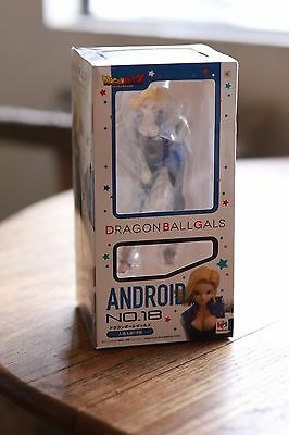 MegaHouse Dragon Ball Z Dragonball Gals Android #18 Figure 19cm STUNNING!