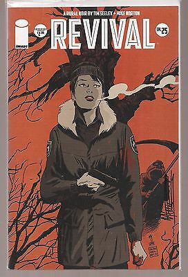 REVIVAL #25 Variant Image Comic1st Print FN/VF - Signed by Mike Norton