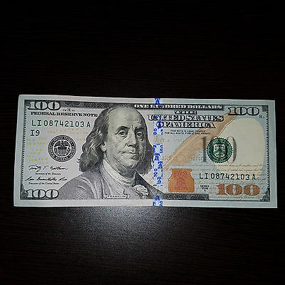 1 x Lightly Circulated $100 Bill US Paper Money! Immediate Processing & Shipping