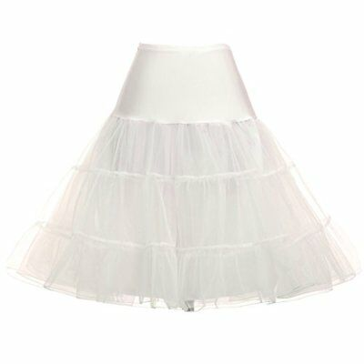 Super Cute Petticoat Underskirt for Daughter (L,Ivory)