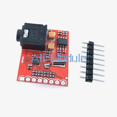 Si4703 RDS FM Radio Tuner Evaluation Breakout Board For Arduino AVR PIC ARM M