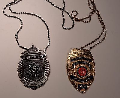 Breitling Baselworld 2011 and 2012 Obsolete Security Badges