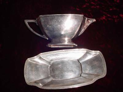 1928 LEGACY pattern Gravy boat with underliner  1847 Rogers bros.