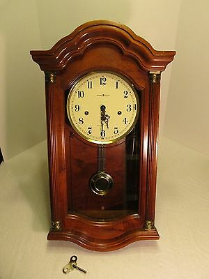 Howard Miller 613-231 Pembrook Westminster Chime 4-step Arch Keywound Wall Clock
