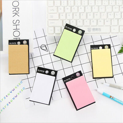 Colorful Pastel Removable Sticky Post Notes Individually Packed Pad 100 Sheets