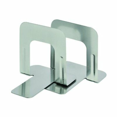 Steelmaster Soho Collection Economy Steel 5 Inch Bookends 1 Pair Silver (2410...