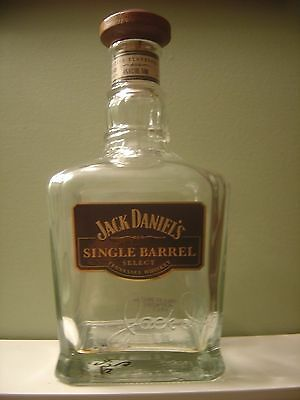 Jack Daniel's Single Barrel Tennessee Whiskey Bottle WOODEN CORK
