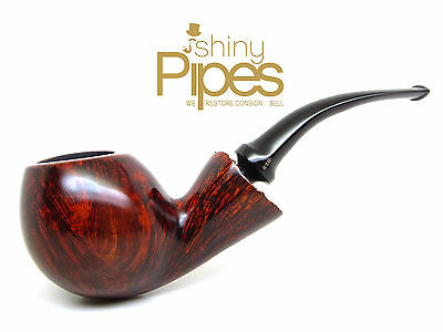 Bari Wiking  VERY LARGE Smooth Freehand Tobacco Estate Pipe BEAUTIFUL - i34