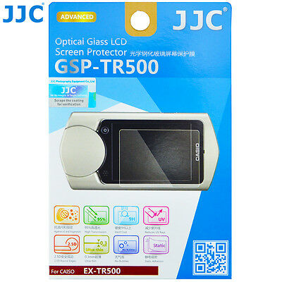 JJC 0.3mm 9H Optical Tempered Glass Screen Protector for CASIO EX-TR500 EX-TR550