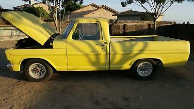 1968 Ford F-100  1968 F100 shortbed